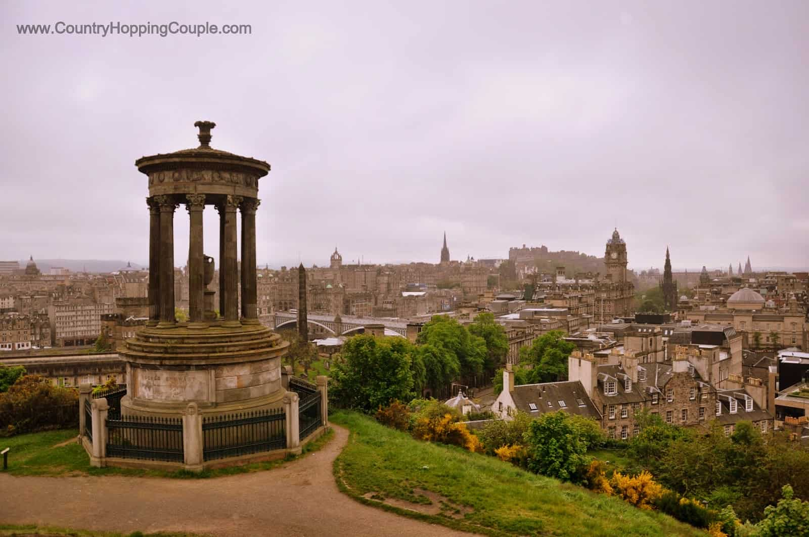 Monument Monday: Dugald Stewart Monument, Edinburgh