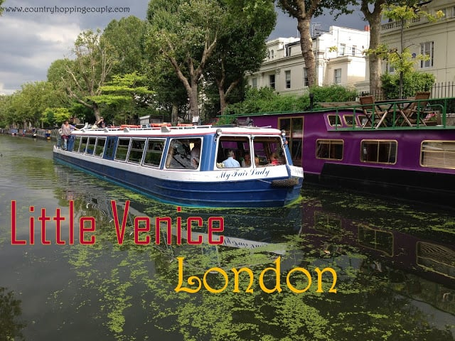Postcards from Little Venice, London