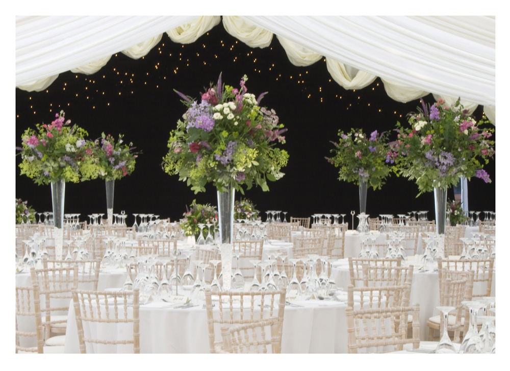 Church And Marquee Wedding In Oxfordshire