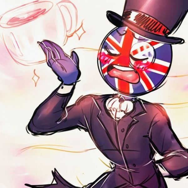 CountryHumans || great britain - CountryHumans