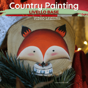 Volpe -Video Lezione di Country Painting