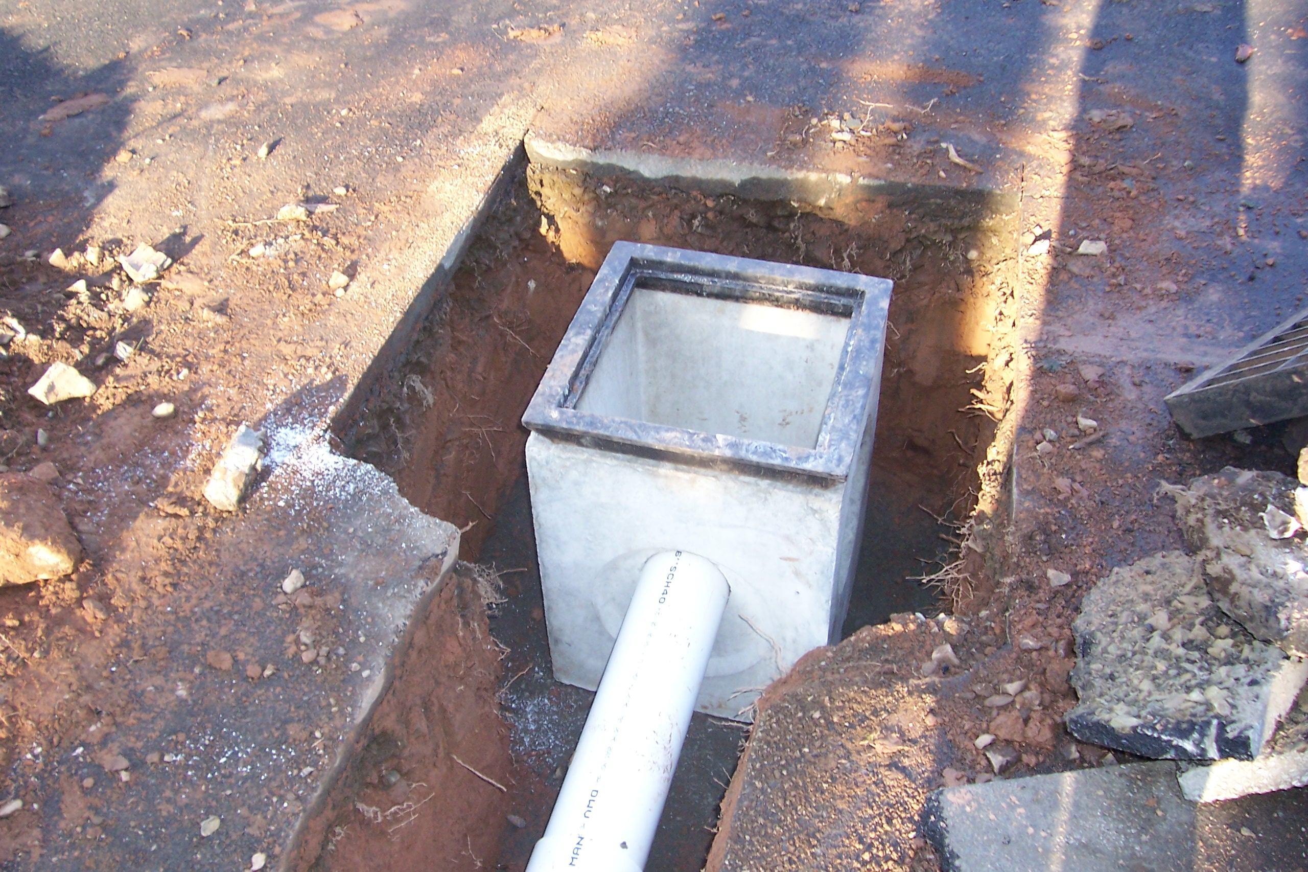 Catch Basin Installation Country Landscaping Llc