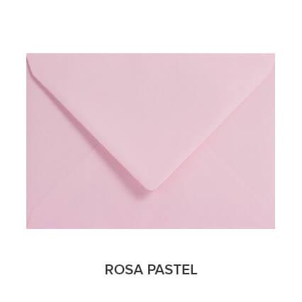 sobres de colores económicos rosa pastel