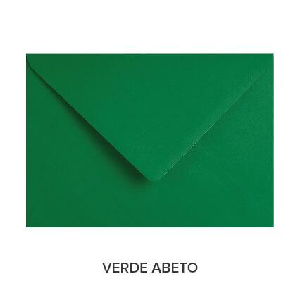 sobres de colores económicos verde abeto