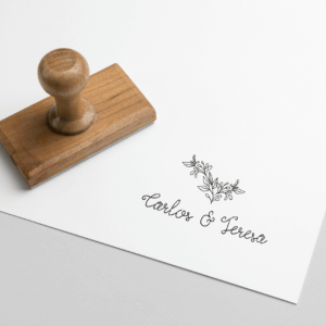sello personalizado rama