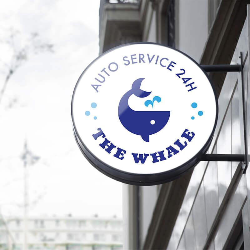 Diseño logo auto lavado