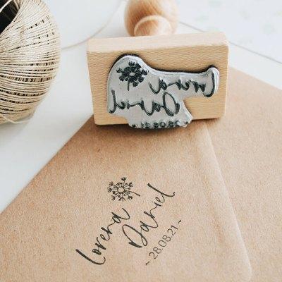 sello-personalizado-boda-campestre-diente-de-leon