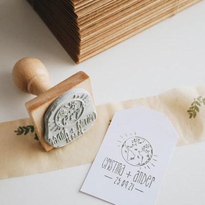 sello-personalizado-viajero-mapamundi