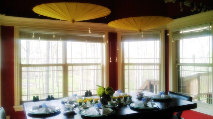 April Flowers Bring May Flowers Dining Room