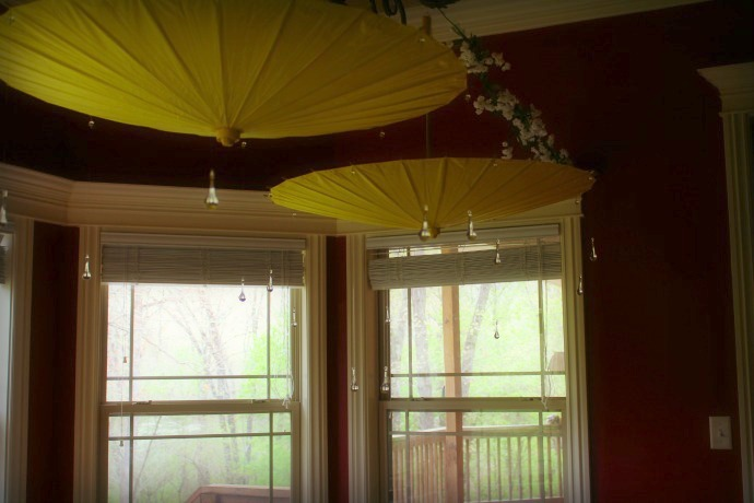 April Showers Bring May Flowers Dining Room