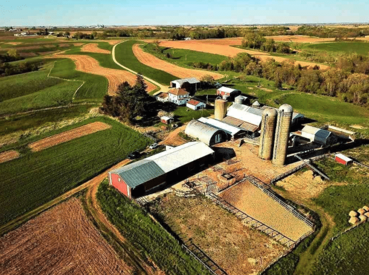 c.1900 Hobby Farm For Sale 105 Acres Cassville WI $599,900