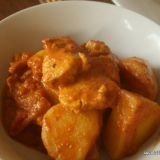 {Recipe} Chicken and Potato Korma