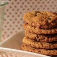{Recipe} Our Favourite Chocolate Chip Biscuits