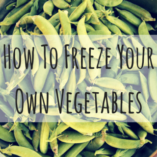 How To Freeze Your Own Vegetables