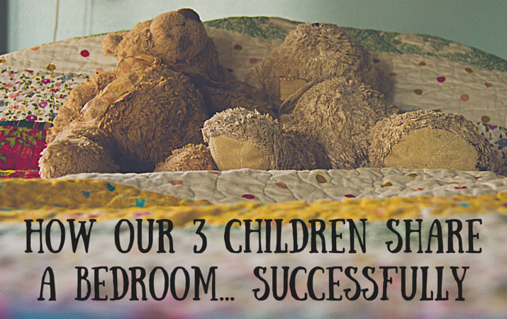 How Our Three Children Share A Bedroom.... Successfully