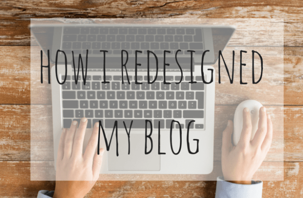 How I redesigned my blog - by myself (3)