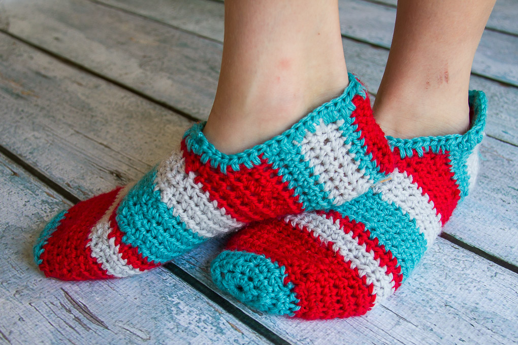 Crochet Slippers-2