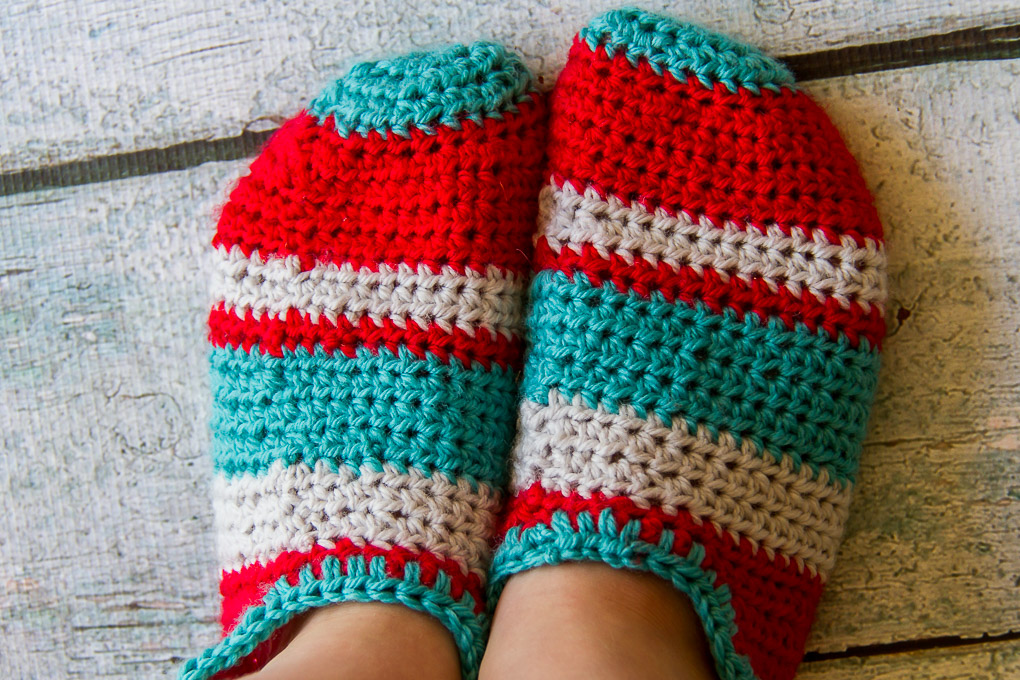 Crochet Slippers-5