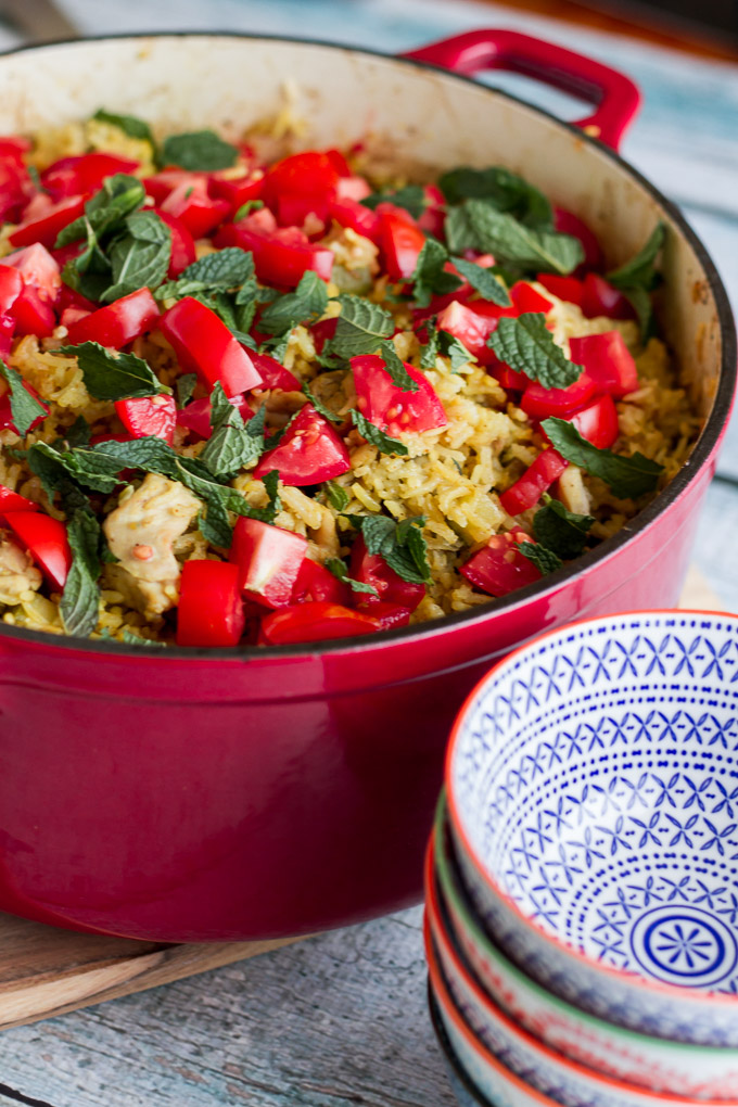 Curried Chicken and Vegetable Pilaf-2