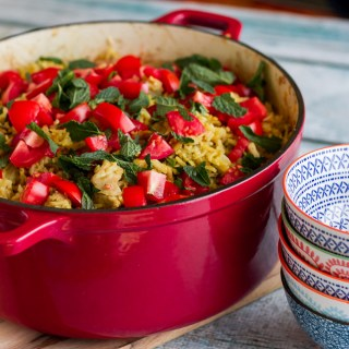 Curried Chicken And Vegetable Pilaf