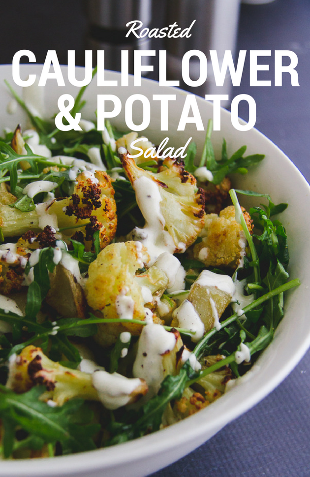Roasted Cauliflower & Potato Salad