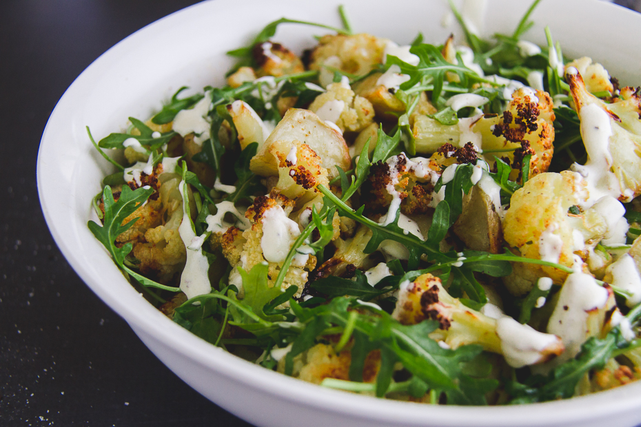 Roasted Cauliflower Salad-4