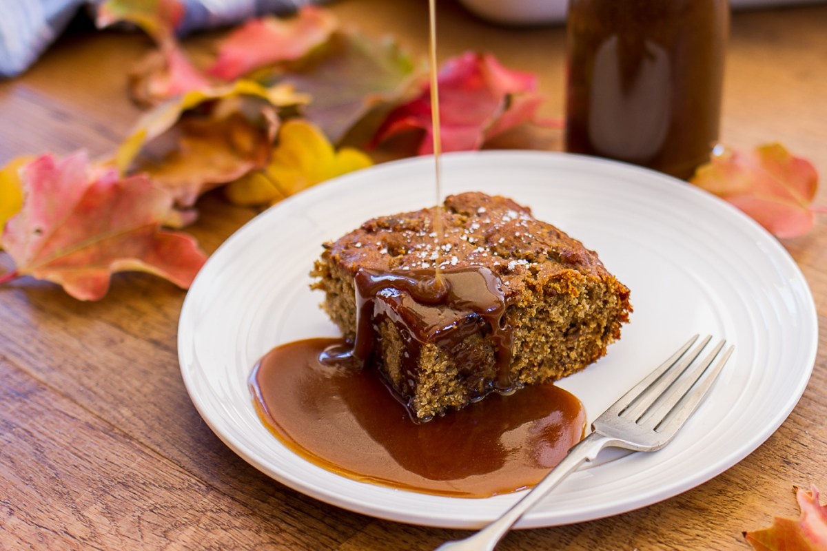 Fig And Date Pudding With Butterscotch Sauce