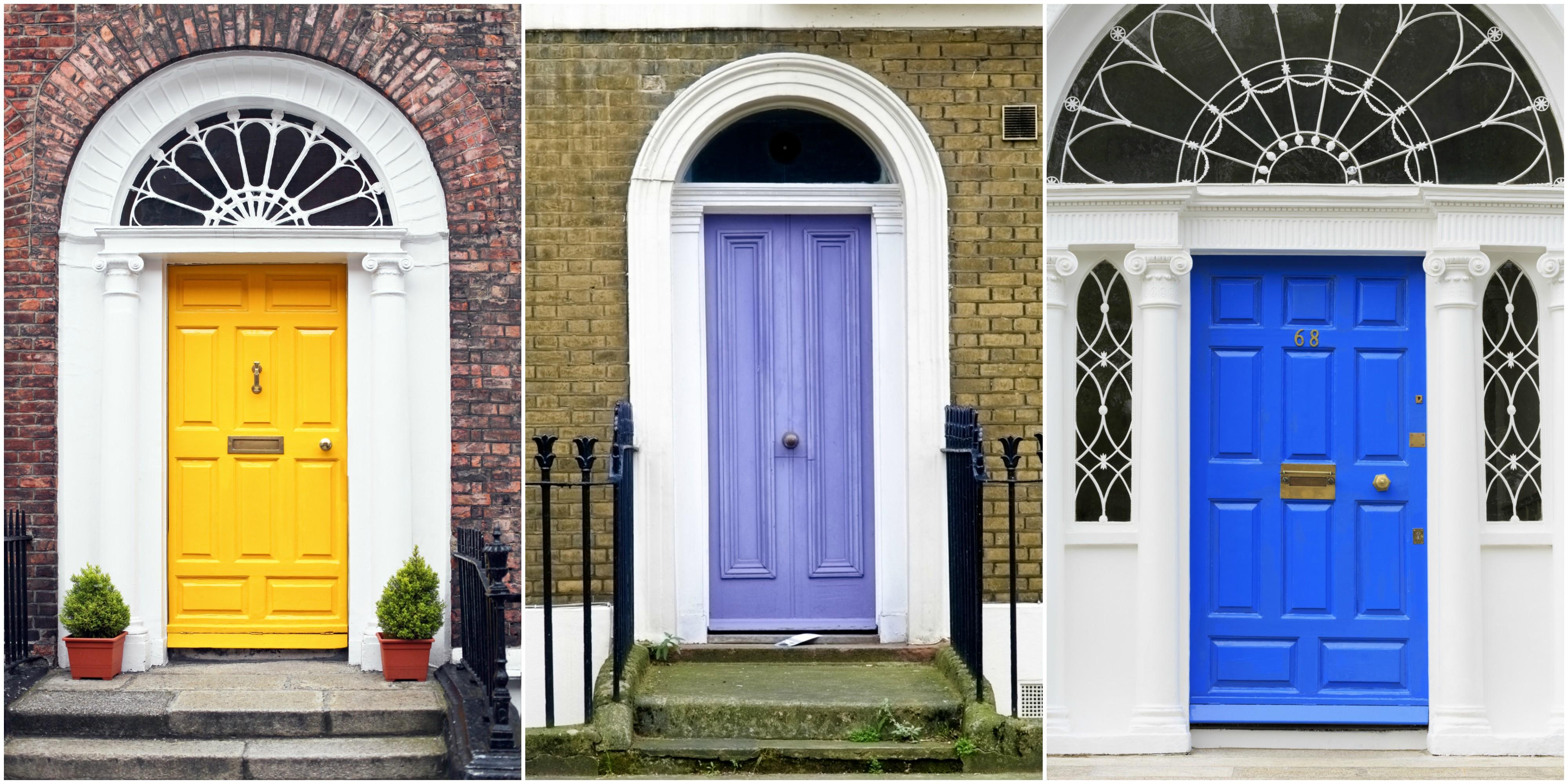 10 most popular door colours in 2018
