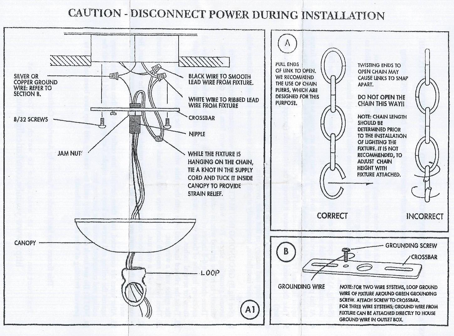 hight resolution of chandelier step by step installation guidechandelier fixture wiring diagram 13