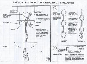 Chandelier Step By Step Installation Guide