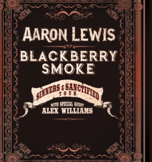 Blackberry Smoke and Aaron Lewis Tour Details