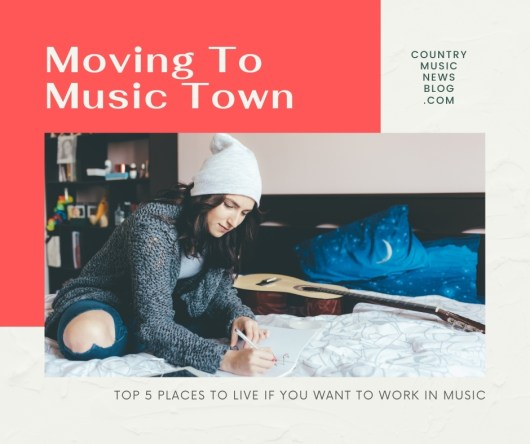 Top Five Places To Live if You Want To Work In Music