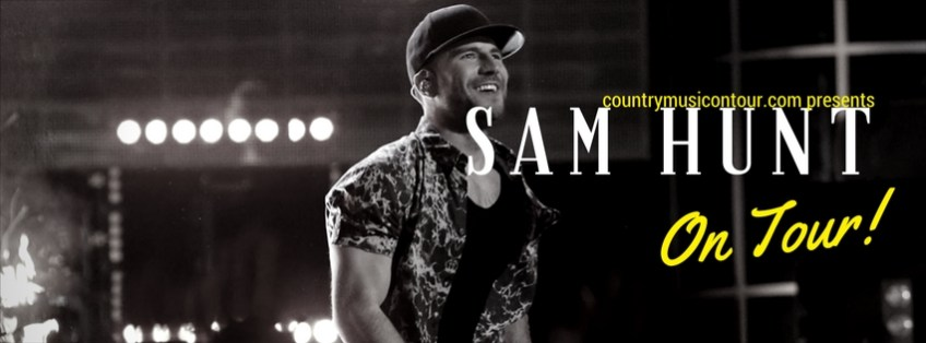 Sam Hunt Tickets on Country Music On Tour, your home for country concerts!