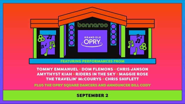 Grand Ole Opry Reveals Lineup For Its Bonnaroo Show