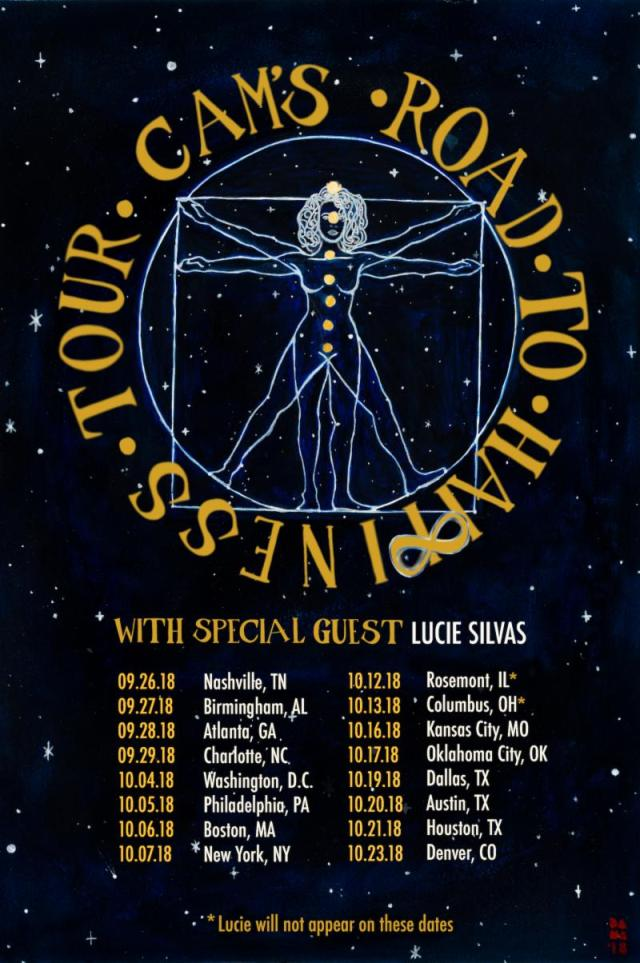 Cam Tour Dates