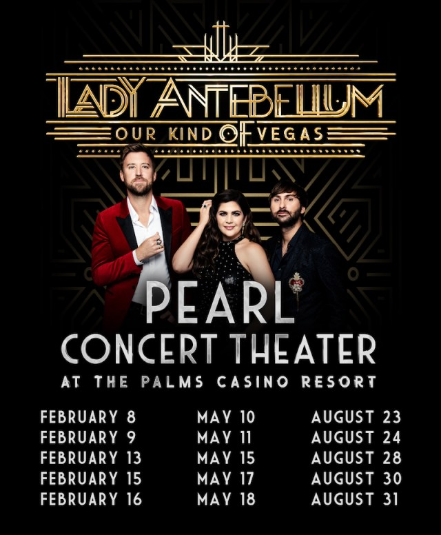Lady Antebellum in Vegas
