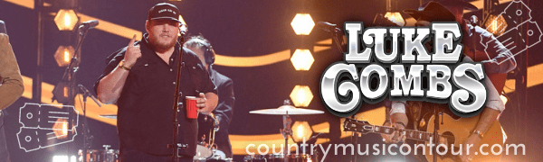 Luke Combs Tickets on Country Music On Tour