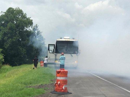 Shenandoah Tour Bus Fire