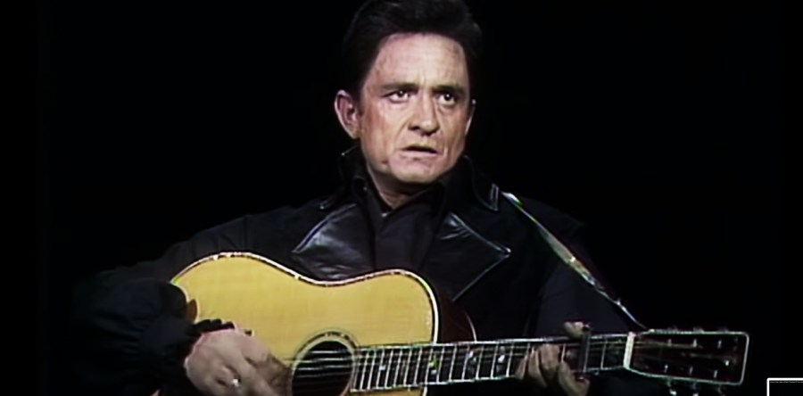 The Man in Black JOHNNY CASH