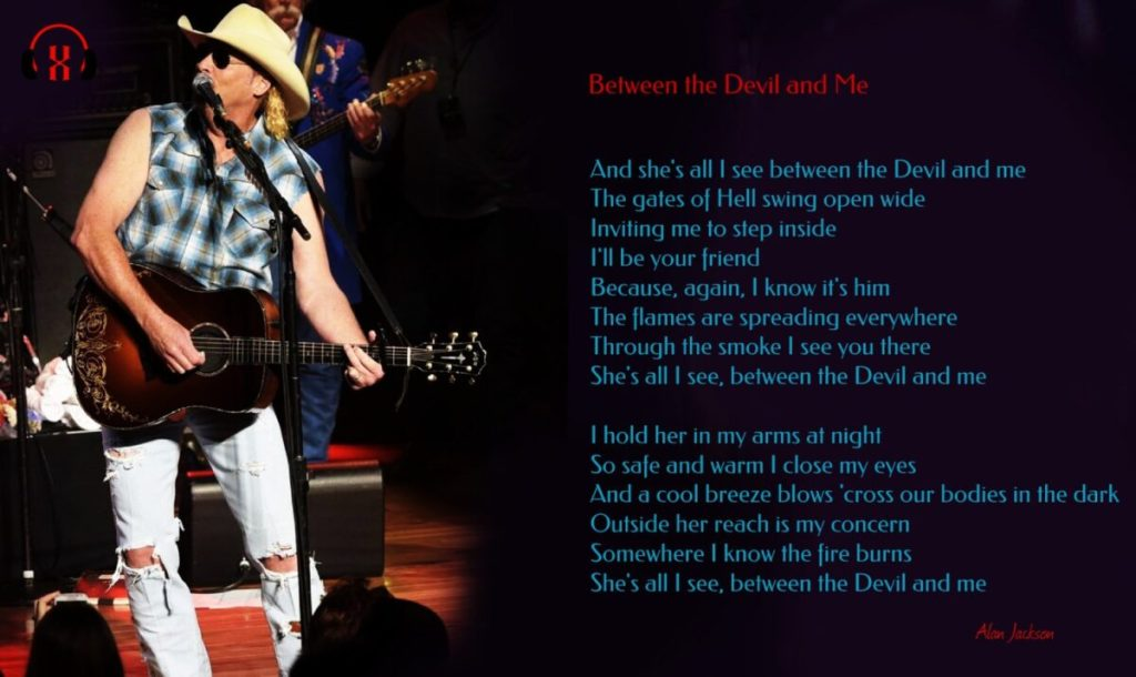 Alan Jackson – Between the Devil and Me