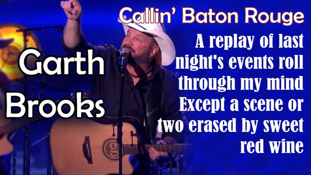 Garth Brooks Performs 'Callin' Baton Rouge'