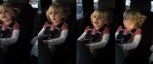3 years old cover Willie Nelson On the road again