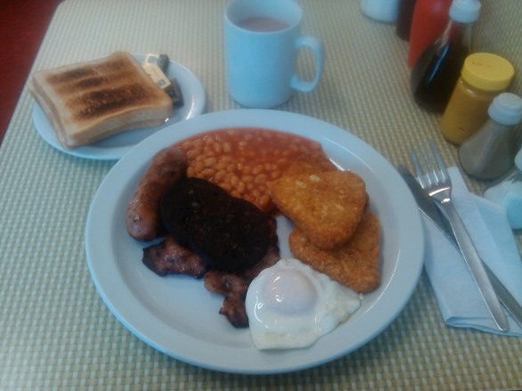Leave full English breakfast