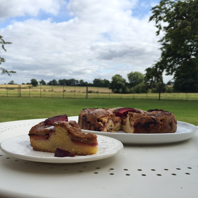 Plum Cake Recipe from The Primrose Bakery Book. Featured on country pages.co.uk