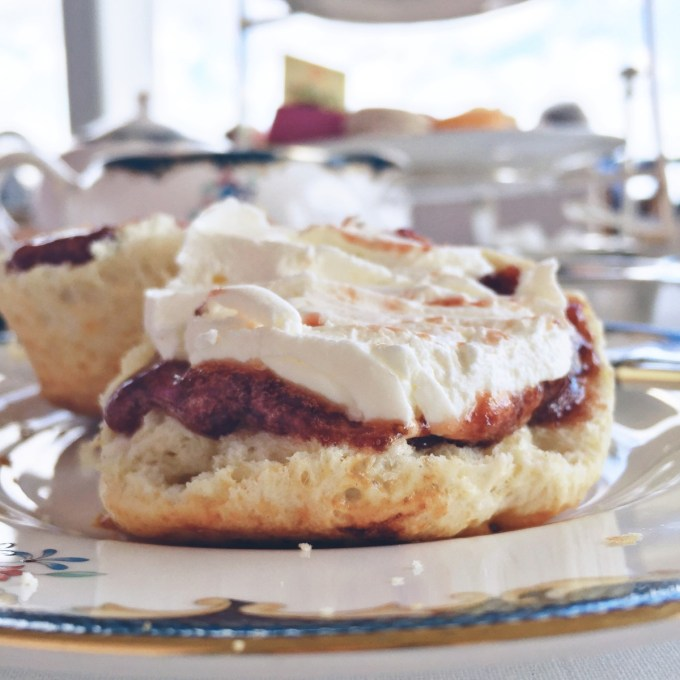 The best afternoon tea in the World at Reid's Palace