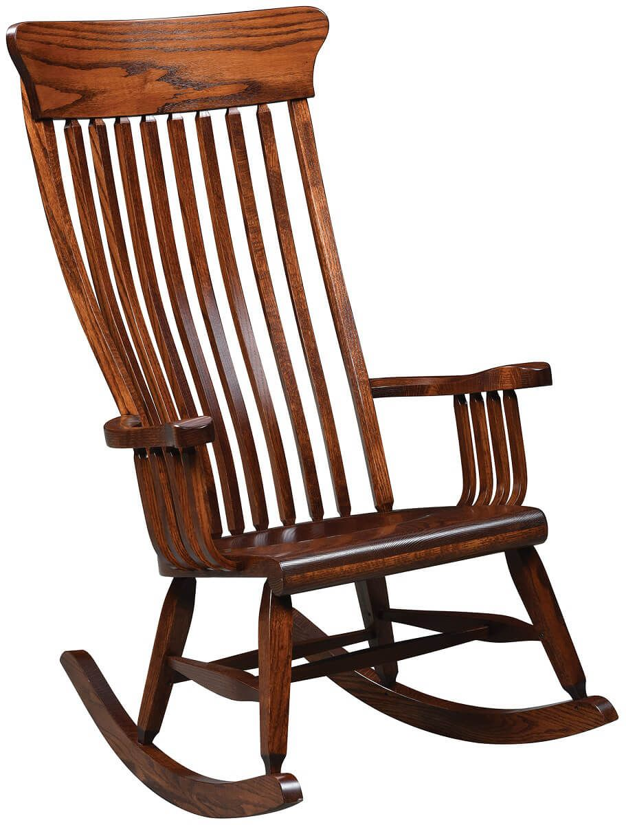 Amish Rocking Chair Benson Amish Rocking Chair Countryside Amish Furniture