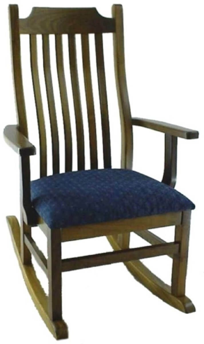 Amish Rocking Chair Mabel Mission Style Rocking Chair Countryside Amish Furniture