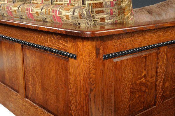 Richmond Upholstered Shaker Sofa