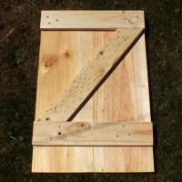 Swinging Barn Door Plans
