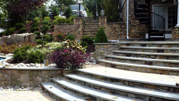 backyard hardscapes - creative